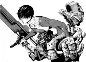 Un visuel du personnage principal.