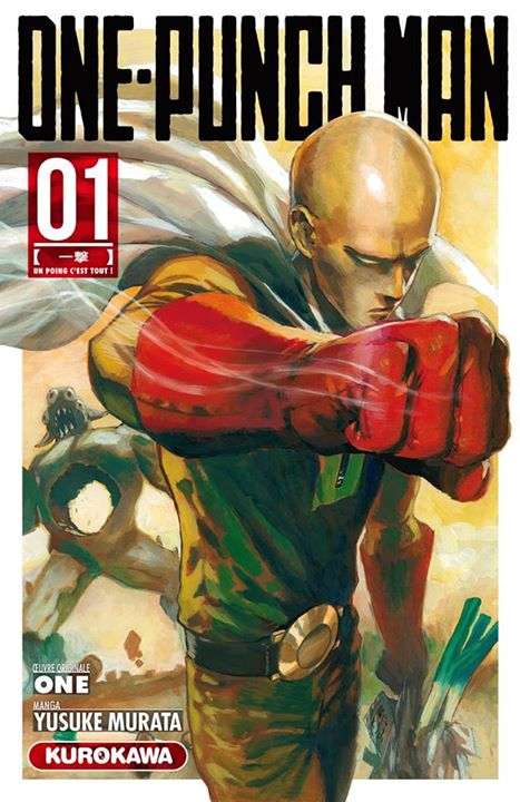 ONE PUNCH MAN T01
