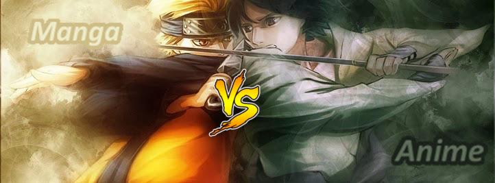 Manga vs anime